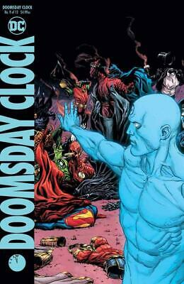 Doomsday Clock #9 (of 12) Gary Frank B Cvr DCU variant Ships FREE Jan Watchmen