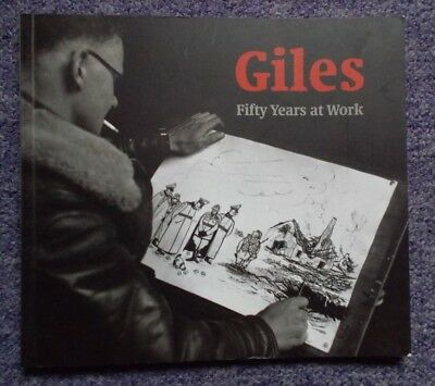 GILES FIFTY YEARS AT WORK BRITISH COUNCIL BOOK EXCELLENT CONDITION Cartoons