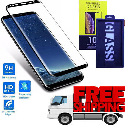 5D Tempered Glass Screen Protector [Case Friendly] For Samsung Galaxy S9 Plus uk