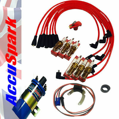 Ford Essex V6 with Motorcraft Distributor  AccuSpark electronic ignition Pack