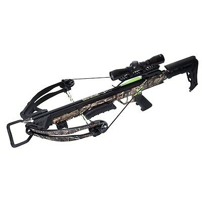 Carbon Express X-Force Blade Crossbow Kit-Ready to Hunt Camo 20244