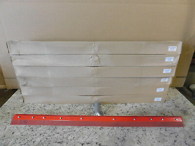 """6 NEW Carlisle 36"""" Straight Steel Rubber Squeegee 4007700 NEW"""