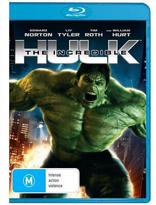 The Incredible Hulk - Edward Norton - Avengers | Blu-ray Region B | Brand New