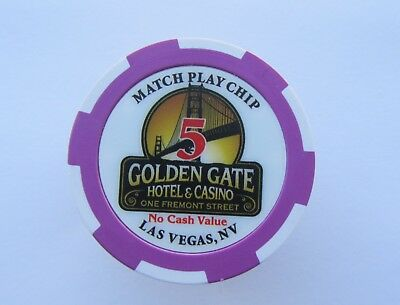 GOLDEN GATE CASINO - Las Vegas, NEVADA - CASINO CHIP