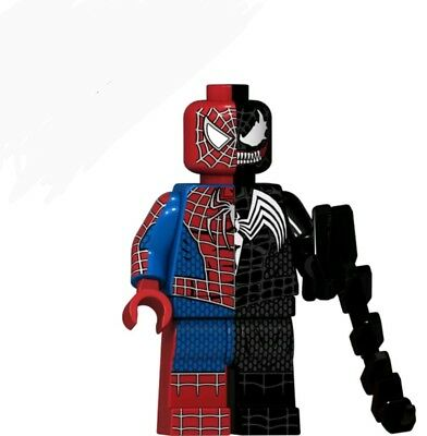 TV VENOM MINI FIGURE, FITS LEGO GIFTS SPIDERMAN GAMING,  MOVIE TOM HARDY
