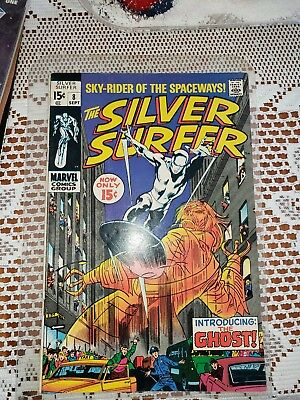 The Silver Surfer #8 (Sep 1969, Marvel)