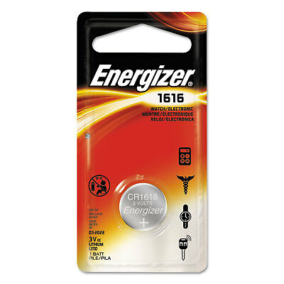 Energizer Watch/Electronic/Specialty Battery, 1616, 3V ECR1616BP