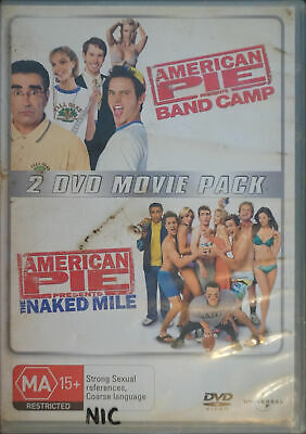 American Pie Band Camp/American Pie The Naked Mile DVD Set