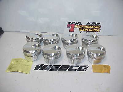 "8 NEW Wiseco BB Chevy Forged Dome Pistons 4.440"" Bore 1.480"" CH- .990""  W94"