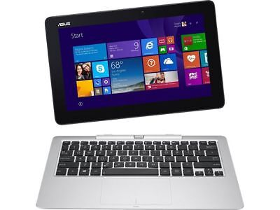 ASUS Transformer Book T100HA-C4-GR 10.1-Inch Touchscreen Laptop 2 in 1 NEW