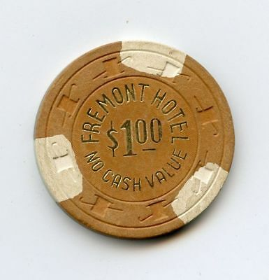 1.00 Chip from the Fremont Casino in Las Vegas Nevada NCV