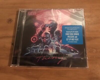Muse Simulation Theory Cd - New Release November 2018