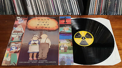 LP Vinyl - When the Wind blows - Soundtrack OST - Raymond Briggs Roger Waters