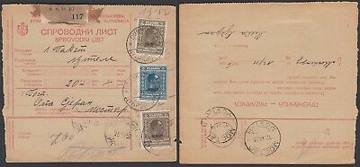 Yugoslavia 1926 - Delivery Note from Moctar................(5G-27075) B8062