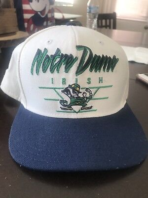 University of Notre Dame Fighting Irish Adidas Flat Brim SnapBack NCAA Cap/Hat
