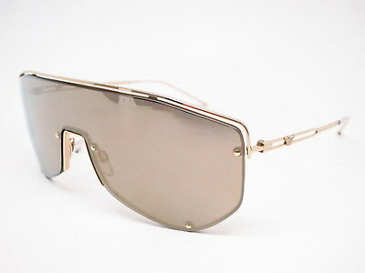 360328cc52b Emporio Armani EA 2072 3013 5A Pale Gold w Light Brown Mirror Gold  Sunglasses
