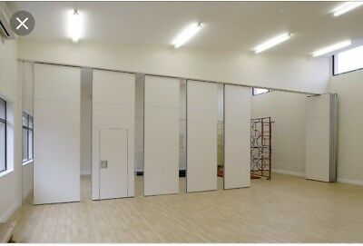 Acoustic Office Wall Partitioning - 9 Panels