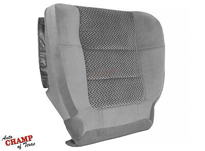 2001-2002 Ford F150 XLT Extended-X-Cab -Driver Side Bottom Cloth Seat Cover Gray