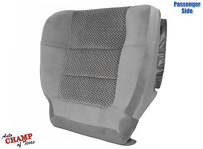 2001-2002 Ford F150 Extended-Cab XLT-Passenger Side Bottom Cloth Seat Cover Gray