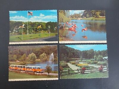 Lot of 4~Vintage Sterling Forest Gardens Tuxedo New York NY Postcards~Unused