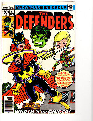 Defenders #51 (9/77) FN+ (6.5) Moon Knight! Giffen! Perez! Great Bronze Age!