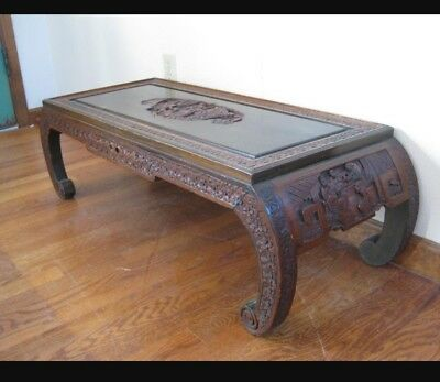 Unique Hand-carved Japanese  Table