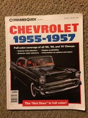 Chevrolet 1955-1957 Soft cover magazine by Consumer Guide May 1991