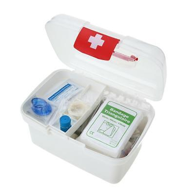 129PCS All Purpose First Aid Kits Box for Home Car Outdoor Family Emergency M8A6
