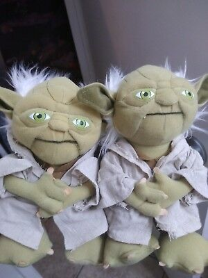 Star Wars Big Retired YODA Plush Stuffed Toy -  Lucasfilm only 2 left