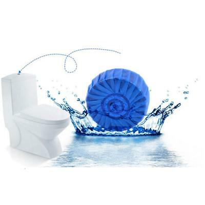 Automatic Blue & Bleach Toilet Bowl Tank Cleaner Tablet Cleaner Flush Hygiene