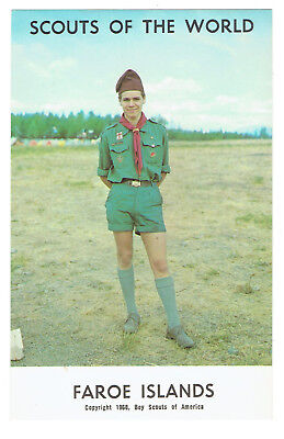 Faroe Islands Scouts of the World series cc 1968 Boy Scouts of America
