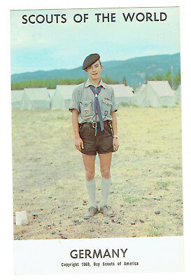 Germany Scouts of the World series cc 1968 Boy Scouts of America