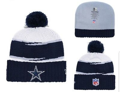 97971df9313 2018 DALLAS COWBOYS New Era NFL Knit Hat On Field Sideline Beanie ...