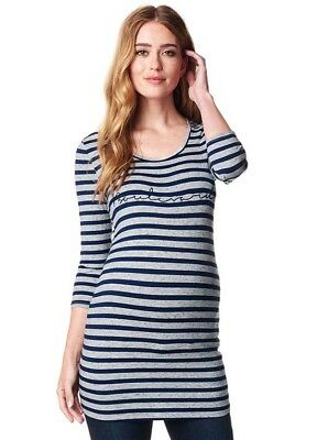 NEW - Supermom - Boulevard Striped Tunic - Maternity Top - FINAL SALE