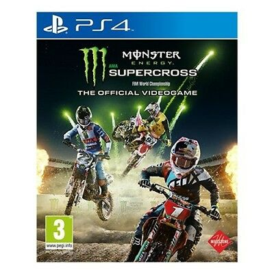 Koch Media Monster Energy Supercross PS4 Videogame ITA Monster Energy Supercross