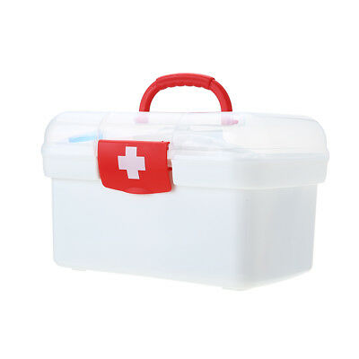 129PCS All Purpose First Aid Kits Box for Home Car Outdoor Family Emergency E1R0