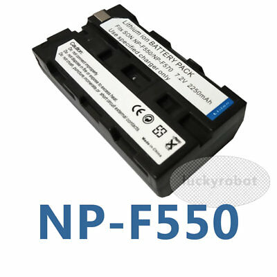 NPF550 Rechargeable Li-ion Battery Pack For Sony NP-F550 NP-F570 Digital Camera
