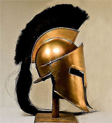 Movie Spartan King Leonidas Medieval Roman Helmet Greek Liner Reenactment