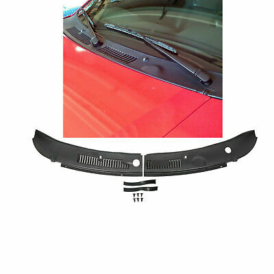 New Windshield IMPROVED Wiper Cowl Vent Grille Panel Hood For 99-04 Ford Mustang