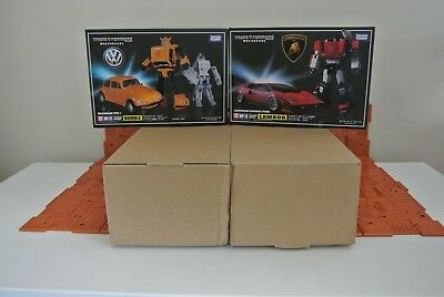 Takara Transformers Masterpiece Mp10 Optimus Prime, MP12 & MP21 package