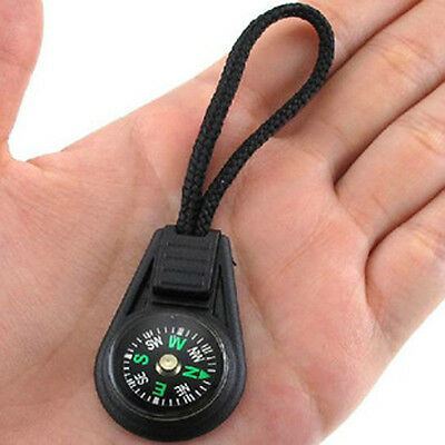 Convenient Small Creative keychain compass direction discrimination outdoor BH