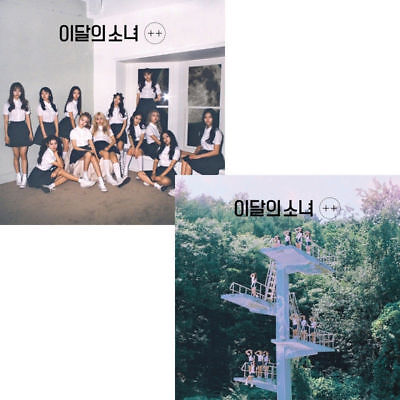 MONTHLY GIRL LOONA [+ +] Debut Mini Album (A ver) CD+PhotoBook+P.Card+Gift K-POP