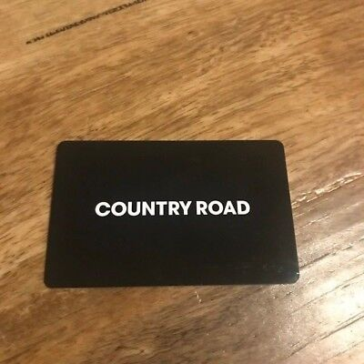 Country Road Gift Card $200 valid 3 years to Dec 2021