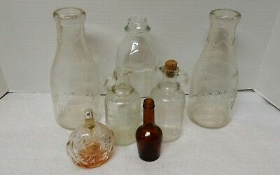 Large Lot of collectible vintage bottles