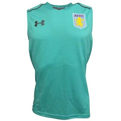 Under Armour Aston Villa FC Men's 17/18 Sleeveless Vest - S - New