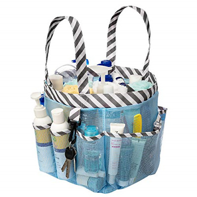 blitzlabs Mesh Shower Caddy Tote Waterproof Portable Dry Shower Tote Bag and w/