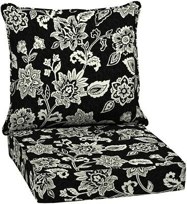 Arden Selections 24 x 24 Ashland Jacobean Seating Outdoor Lounge Chair Cushion