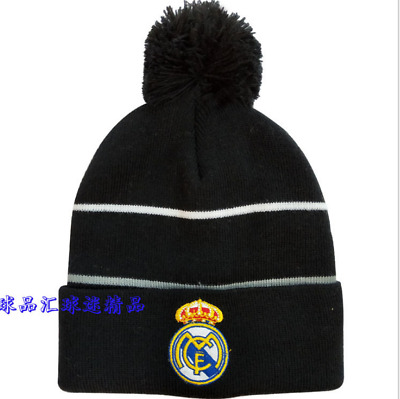 ecac50bc25c Real Madrid Club de Fútbol Soccer Beanie Cap Hat Knit Winter Football Unisex