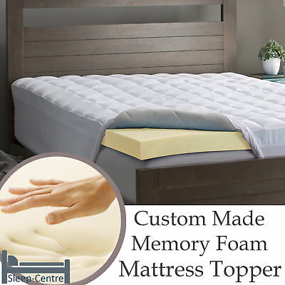 Lavish 100% Memory Foam Mattress Topper Orthopedic, Hypoallergenic + All Sizes