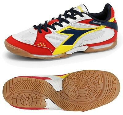 a3198ee1d DIADORA QUINTO ID Soccer Turf Shoes Size 8 White Red - NEW -  38.99 ...